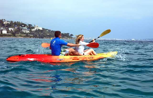 location d'un kayak double - cannes - mourre rouge