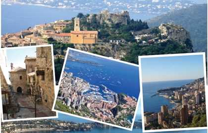 EXCURSION EZE VILLAGE, CORNICHE ET MONACO